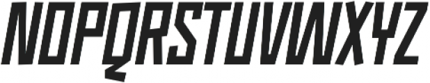 Monolisk Black Italic otf (900) Font UPPERCASE