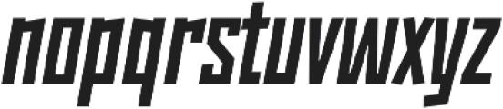 Monolisk Black Italic otf (900) Font LOWERCASE