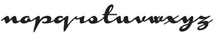 Monoment Slanted otf (400) Font LOWERCASE