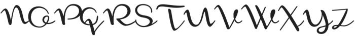 Monoment Thin otf (100) Font UPPERCASE