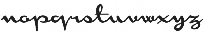 Monoment Thin otf (100) Font LOWERCASE