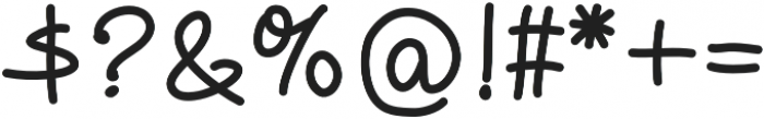 Monomine-Bold otf (700) Font OTHER CHARS