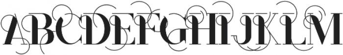 Monophone Regular otf (400) Font UPPERCASE