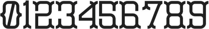 Monoslam Regular otf (400) Font OTHER CHARS