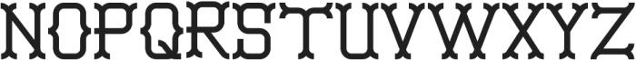 Monoslam Regular otf (400) Font UPPERCASE