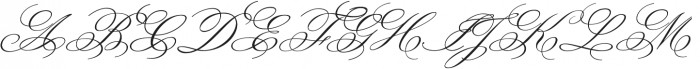 MonsieurLaDoulaise Pro otf (400) Font UPPERCASE
