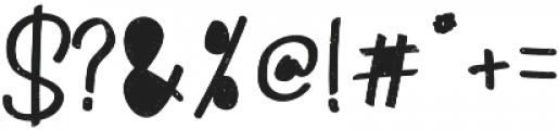 Monstahh otf (400) Font OTHER CHARS