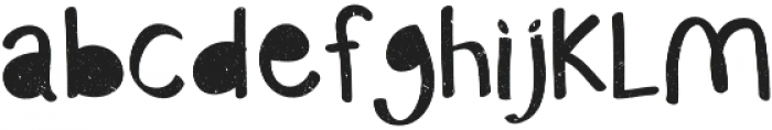 Monstahh otf (400) Font LOWERCASE