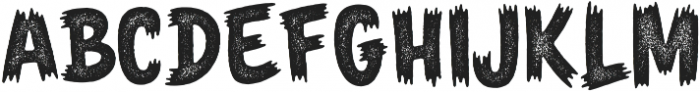 Monster Party Aged otf (400) Font UPPERCASE