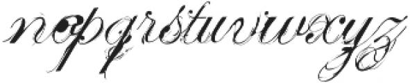 MonsterDays OT Regular otf (400) Font LOWERCASE
