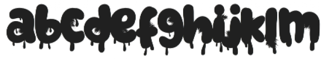 Monsterfield Bloody otf (400) Font LOWERCASE