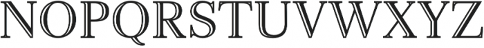 Monstice Engraved otf (400) Font UPPERCASE