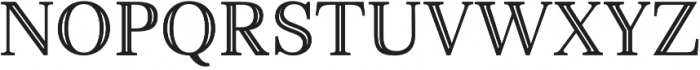 Monstice Inline otf (400) Font UPPERCASE