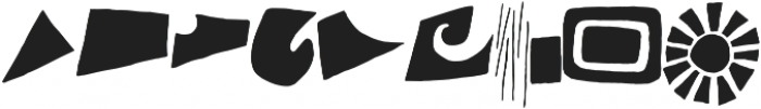 Monstrinhos otf (400) Font OTHER CHARS