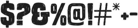 Monstro otf (400) Font OTHER CHARS