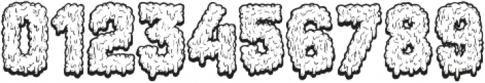 Monstrocity ttf (400) Font OTHER CHARS