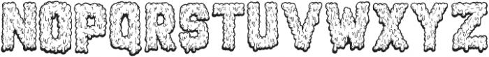 Monstrocity ttf (400) Font UPPERCASE