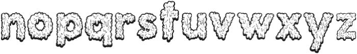 Monstrocity ttf (400) Font LOWERCASE