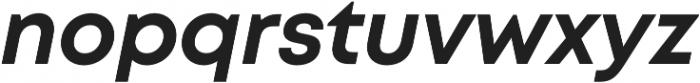 Mont Bold Italic otf (700) Font LOWERCASE