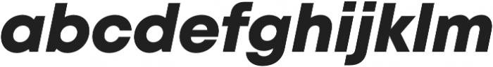 Mont Heavy Italic otf (800) Font LOWERCASE