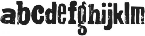 Montada otf (400) Font LOWERCASE