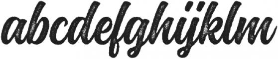 Montana Rough otf (400) Font LOWERCASE