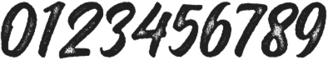 Montana Rough ttf (400) Font OTHER CHARS