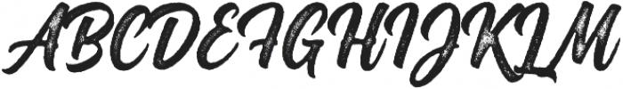 Montana Rough ttf (400) Font UPPERCASE