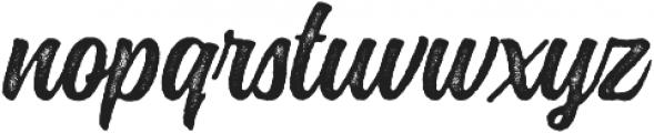Montana Rough ttf (400) Font LOWERCASE