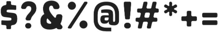 Montara otf (400) Font OTHER CHARS
