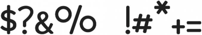 Montauk Regular otf (400) Font OTHER CHARS