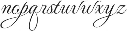 MonteCarloScriptC otf (400) Font LOWERCASE
