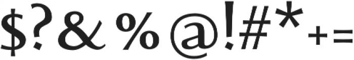 Monterchi otf (700) Font OTHER CHARS