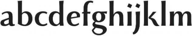 Monterchi otf (700) Font LOWERCASE
