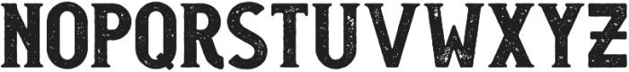 Monterey Rough otf (400) Font LOWERCASE