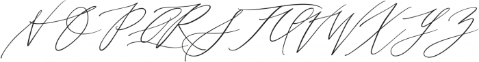 Month Glade otf (400) Font UPPERCASE