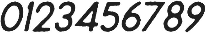 Montharo Edge Italic otf (400) Font OTHER CHARS