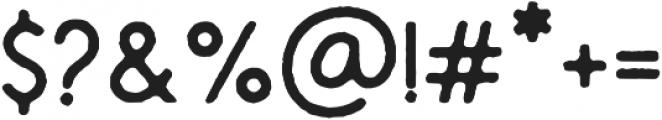 Montharo Edge otf (400) Font OTHER CHARS
