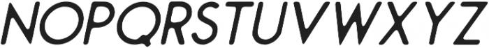 Montharo Inky Italic otf (400) Font LOWERCASE