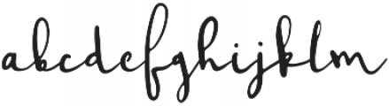 Montreal script_Update otf (400) Font LOWERCASE