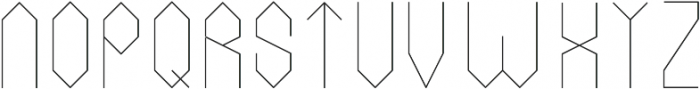 Monument ttf (400) Font LOWERCASE