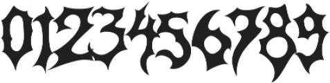 Monumental Purgatory Clean ttf (400) Font OTHER CHARS