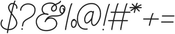Mooglonk otf (400) Font OTHER CHARS