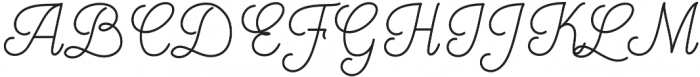 Mooglonk otf (400) Font UPPERCASE