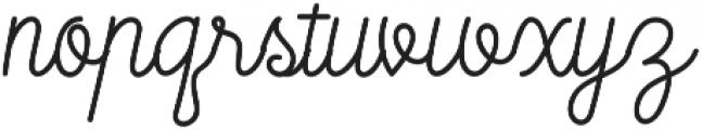 Mooglonk otf (400) Font LOWERCASE