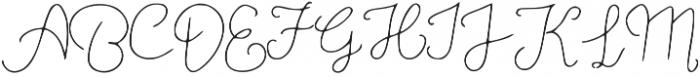 MoonStar-Thin otf (100) Font UPPERCASE