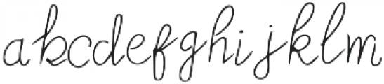 MoonStar-Thin otf (100) Font LOWERCASE