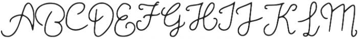 MoonStar otf (400) Font UPPERCASE