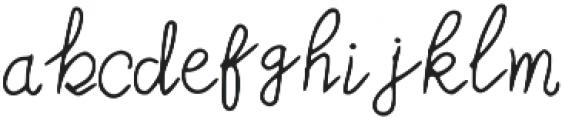 MoonStar otf (400) Font LOWERCASE