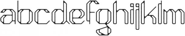 Moondust (null) otf (400) Font LOWERCASE
